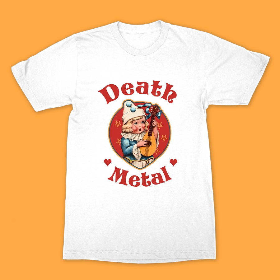 Image of Cute Cult - Death Metal (White)