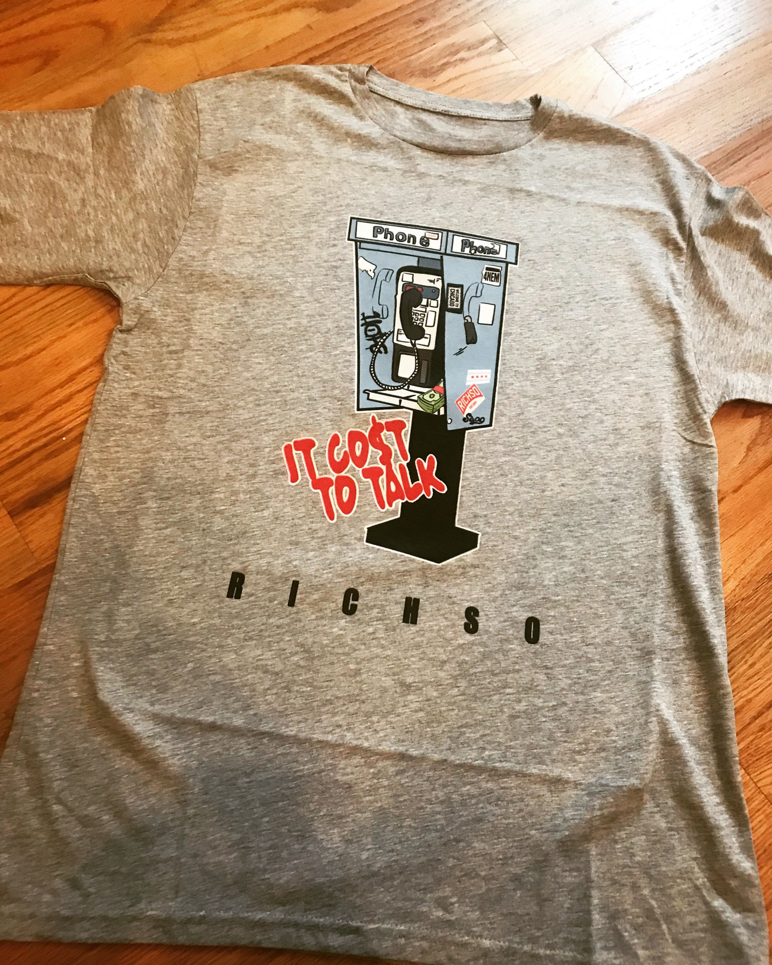 Image of It Cost To Talk (heather grey)