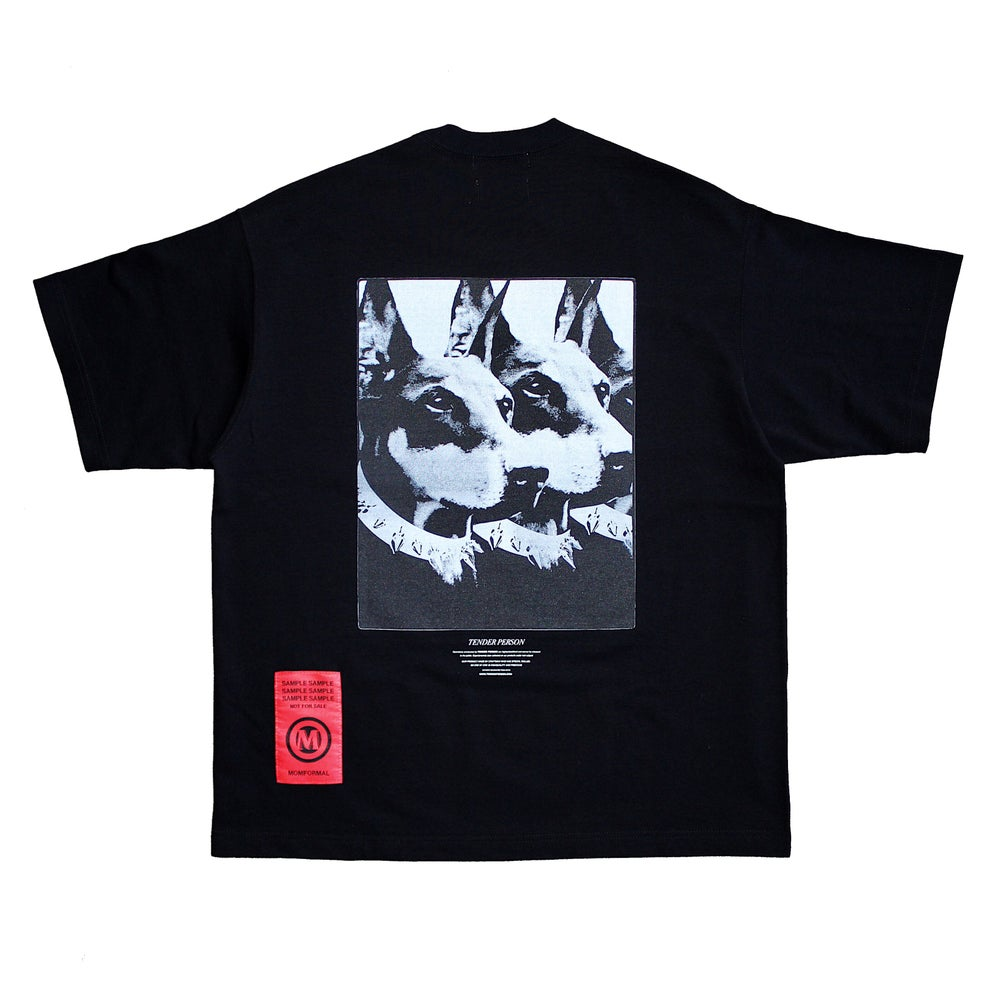 Image of DOG TEE (BLACK)