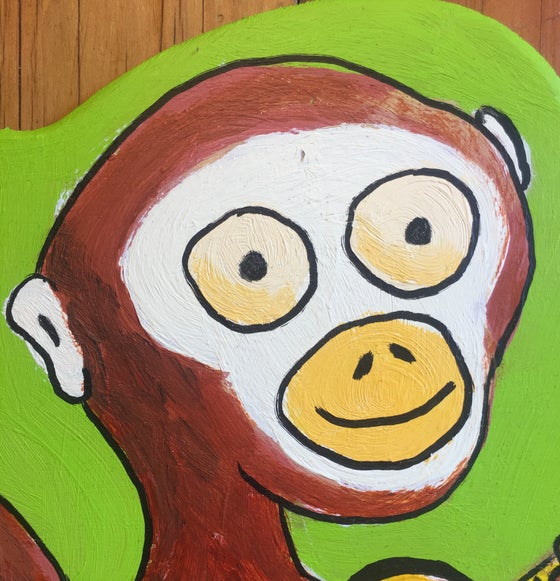 "Image of ""Monkey Strummer Cutout"""