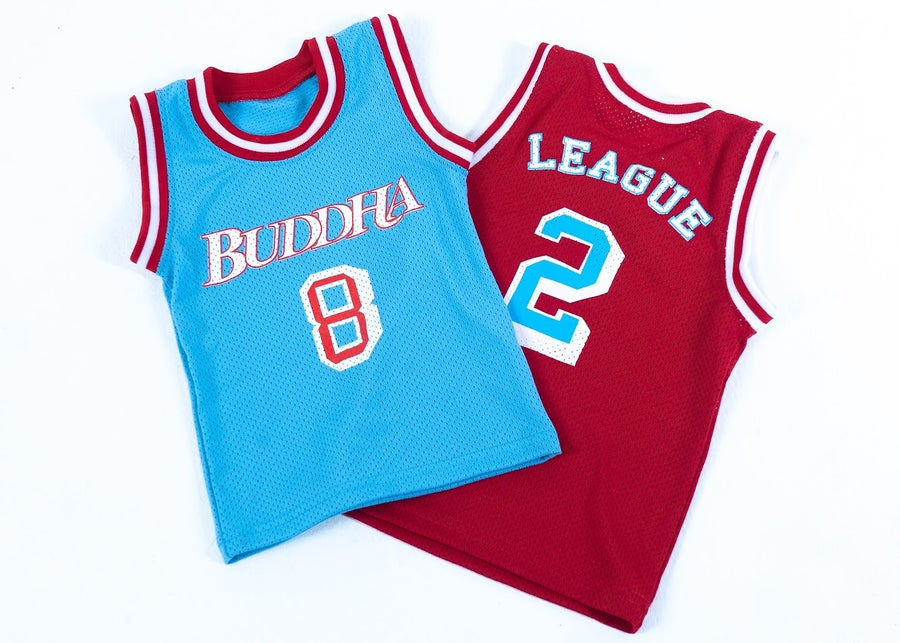 Image of Buddha League Jerseys (kids only.)