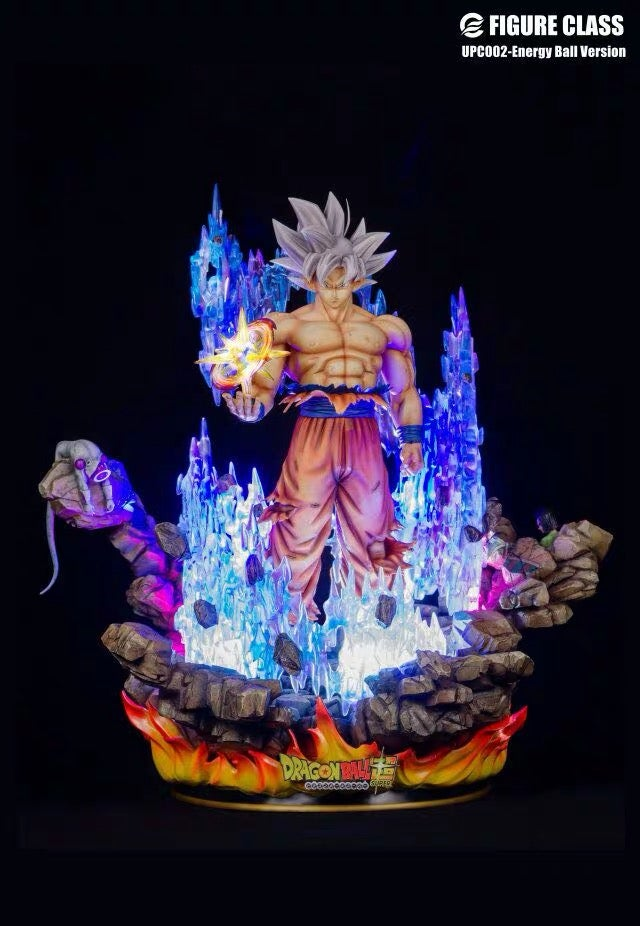 Image of [IN-STOCK]Dragon Ball Super First Class Ultra Instinct Goku Resin Statue(Energy Ball Version)