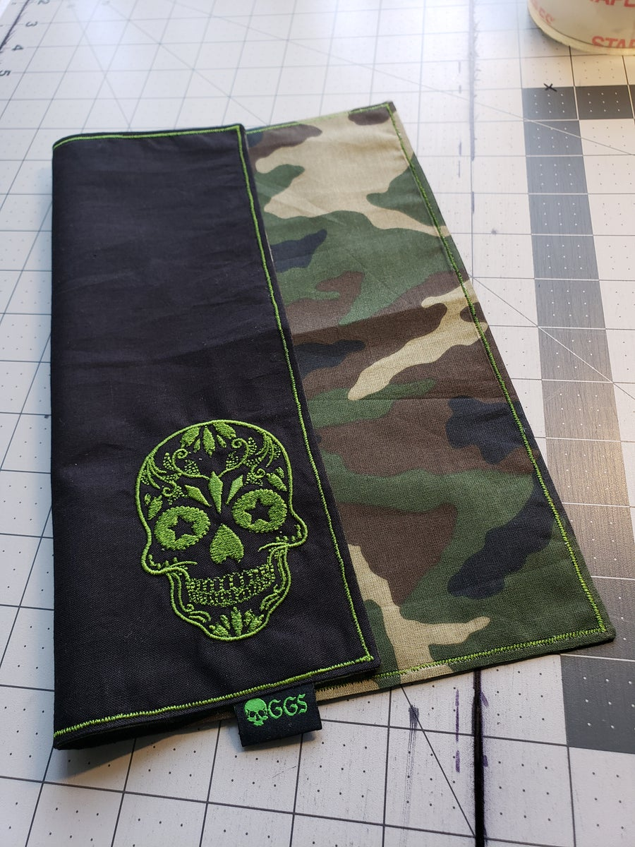 Image of Covert Skull Embroidered