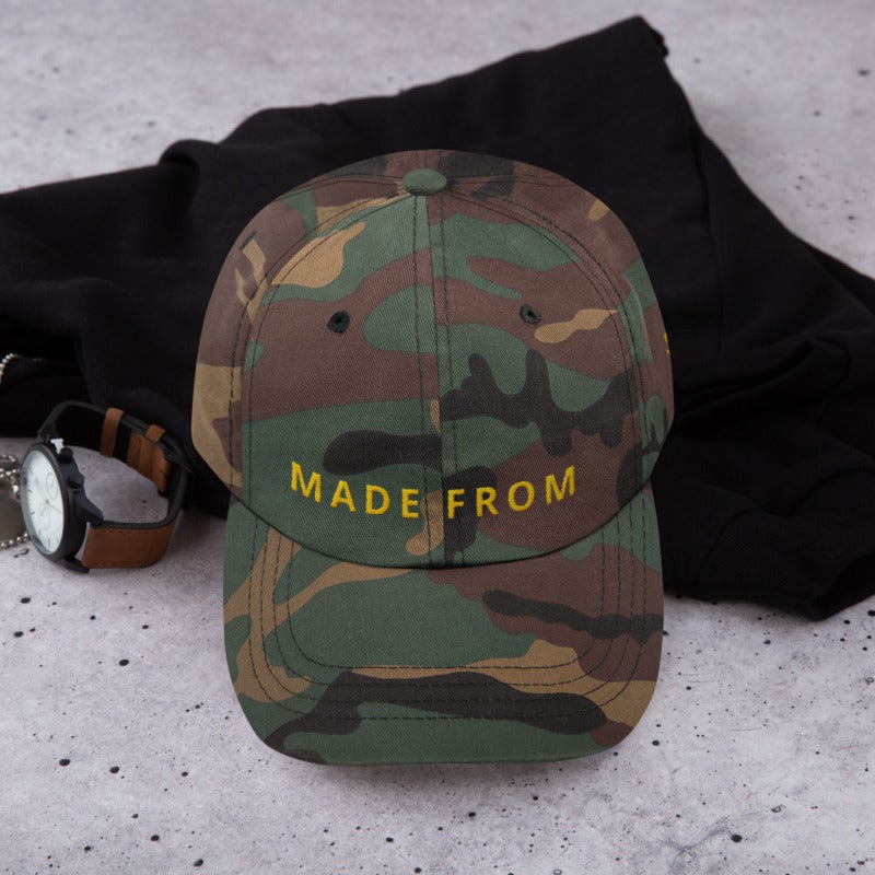 Image of Made From Scratch - Green Camo Hat