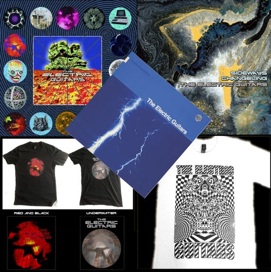 Image of BUNDLE - ALL VINYL RELEASES & A TEE