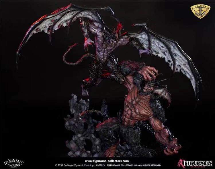 Image of [IN-STOCK]Figurama  Devilman VS Amon Statue