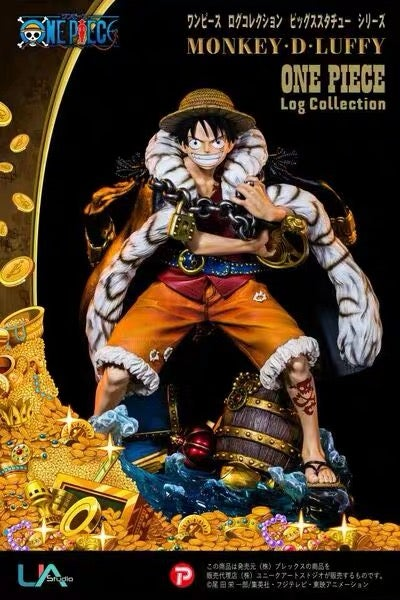 Image of [IN-STOCK]One Piece UA Luffy Resin Statue
