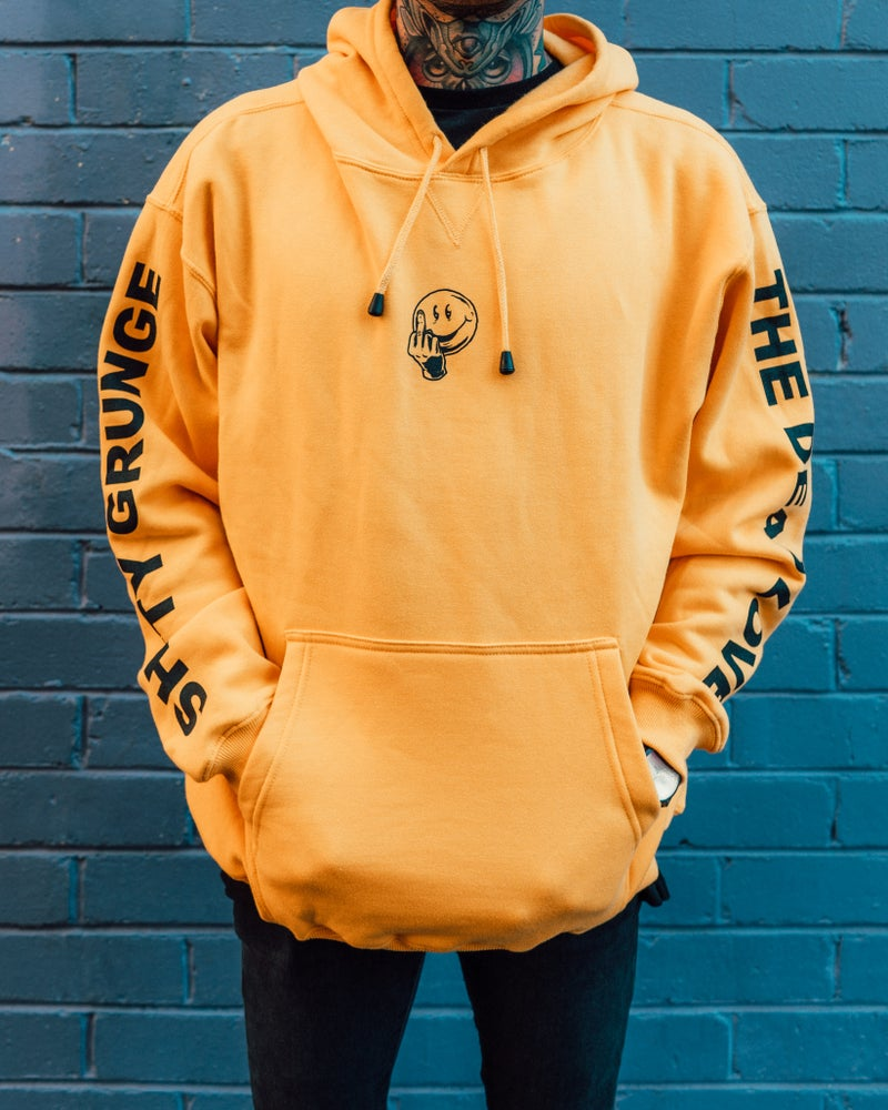 Image of SHITTY GRUNGE HOOD