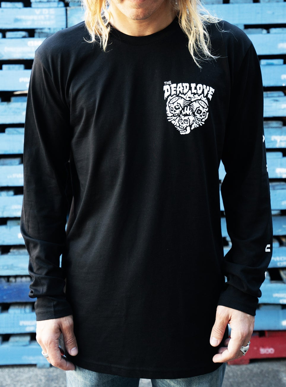 Image of WAKE UP LONG SLEEVE TEE