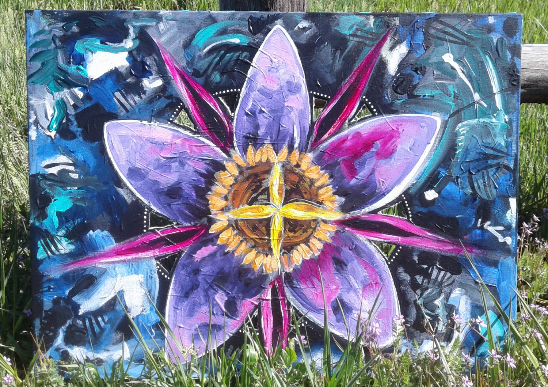 Image of Self-Portrait as Flower