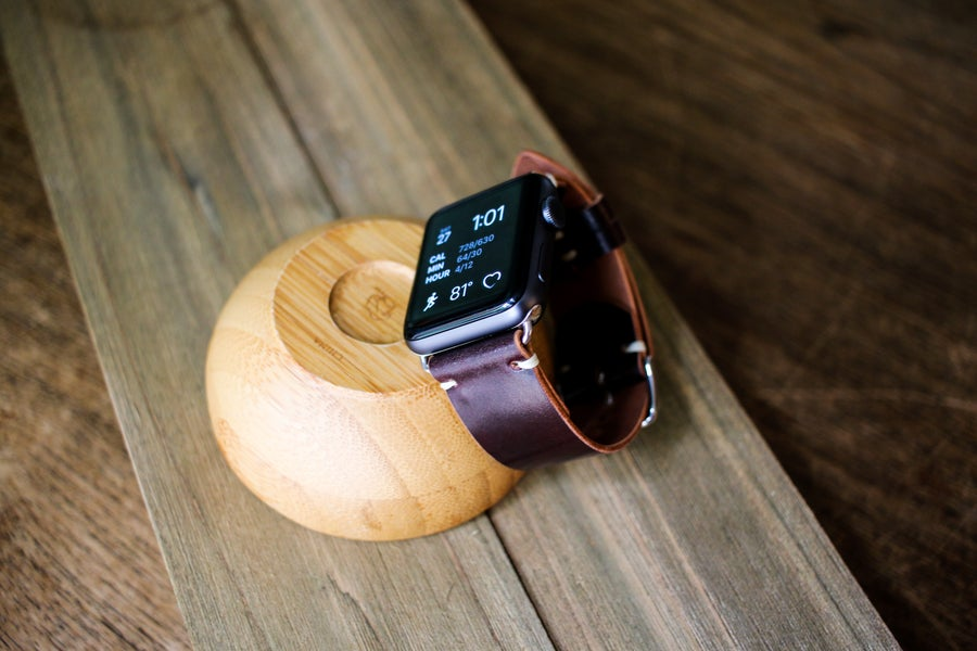 Image of Apple Watch Strap in Horween Shell Cordovan