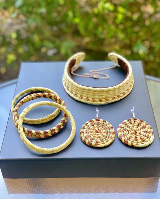"Image of ""Gullah Geechee"" Jewelry Set"