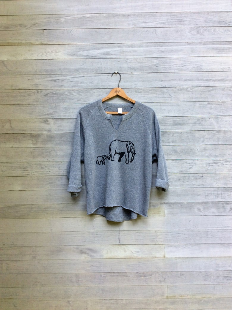 Image of Elephants Remix Sweatshirt