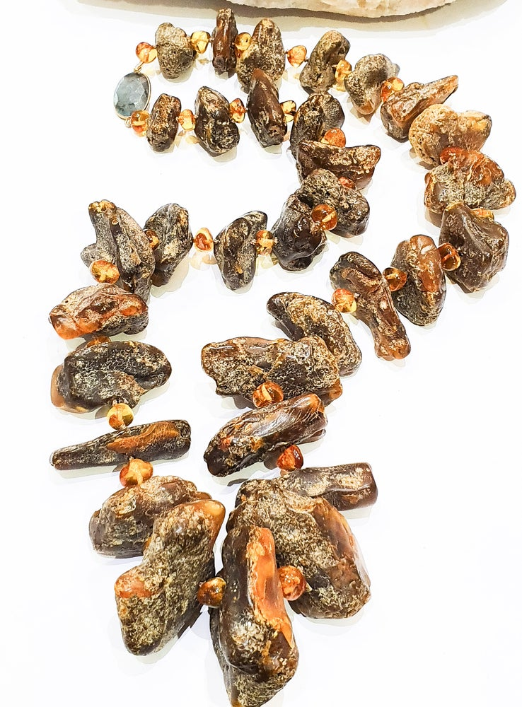 Image of XL Amber Necklace
