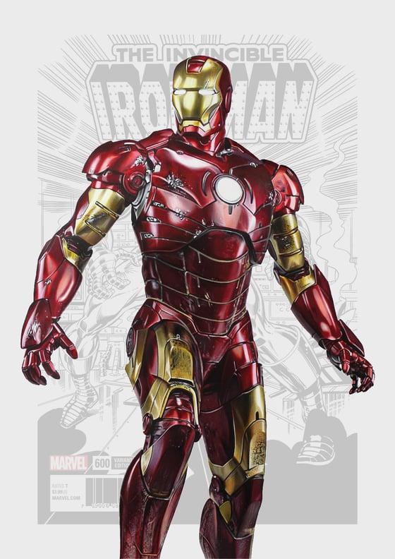 Image of Iron Man Poster Print