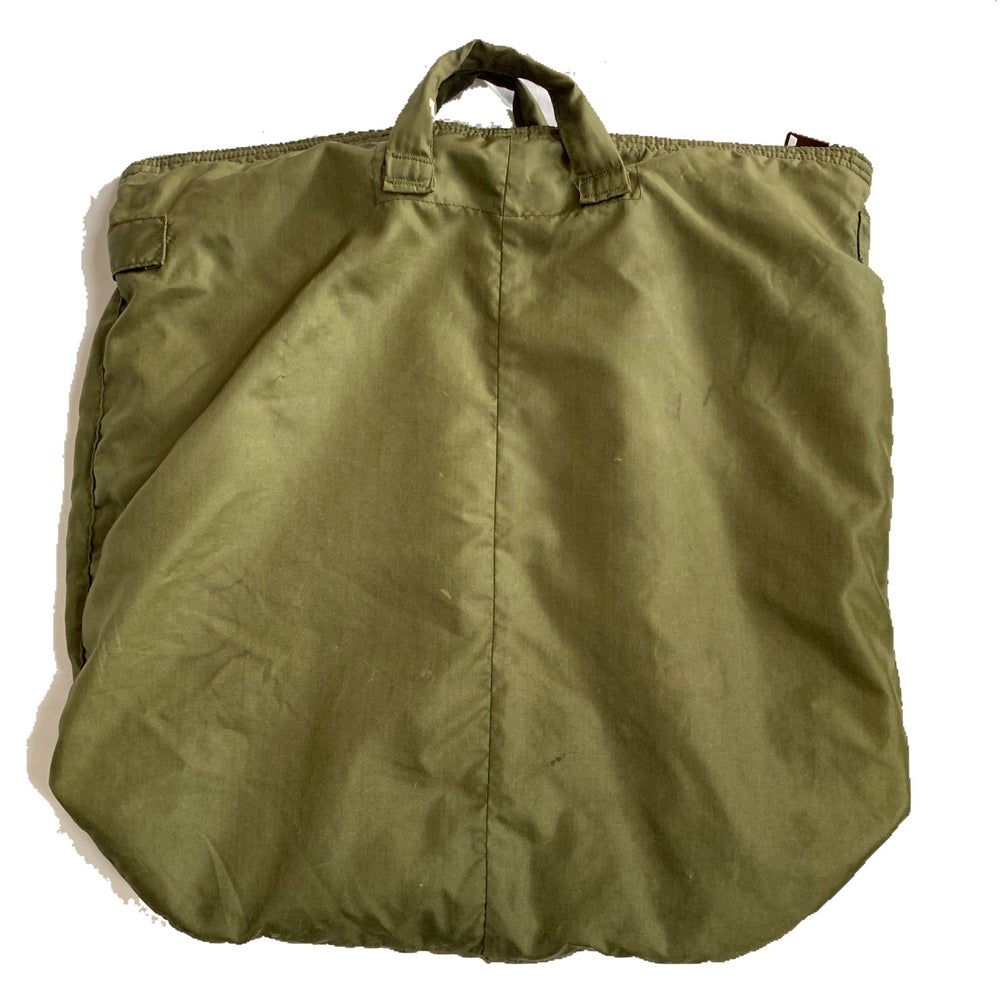 Image of Vintage Vietnam Era Helmet bag