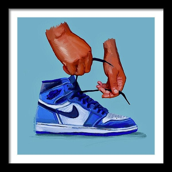 """Image of """"Blue Jays"""" Collector's Edition (Black Hands Series)"""