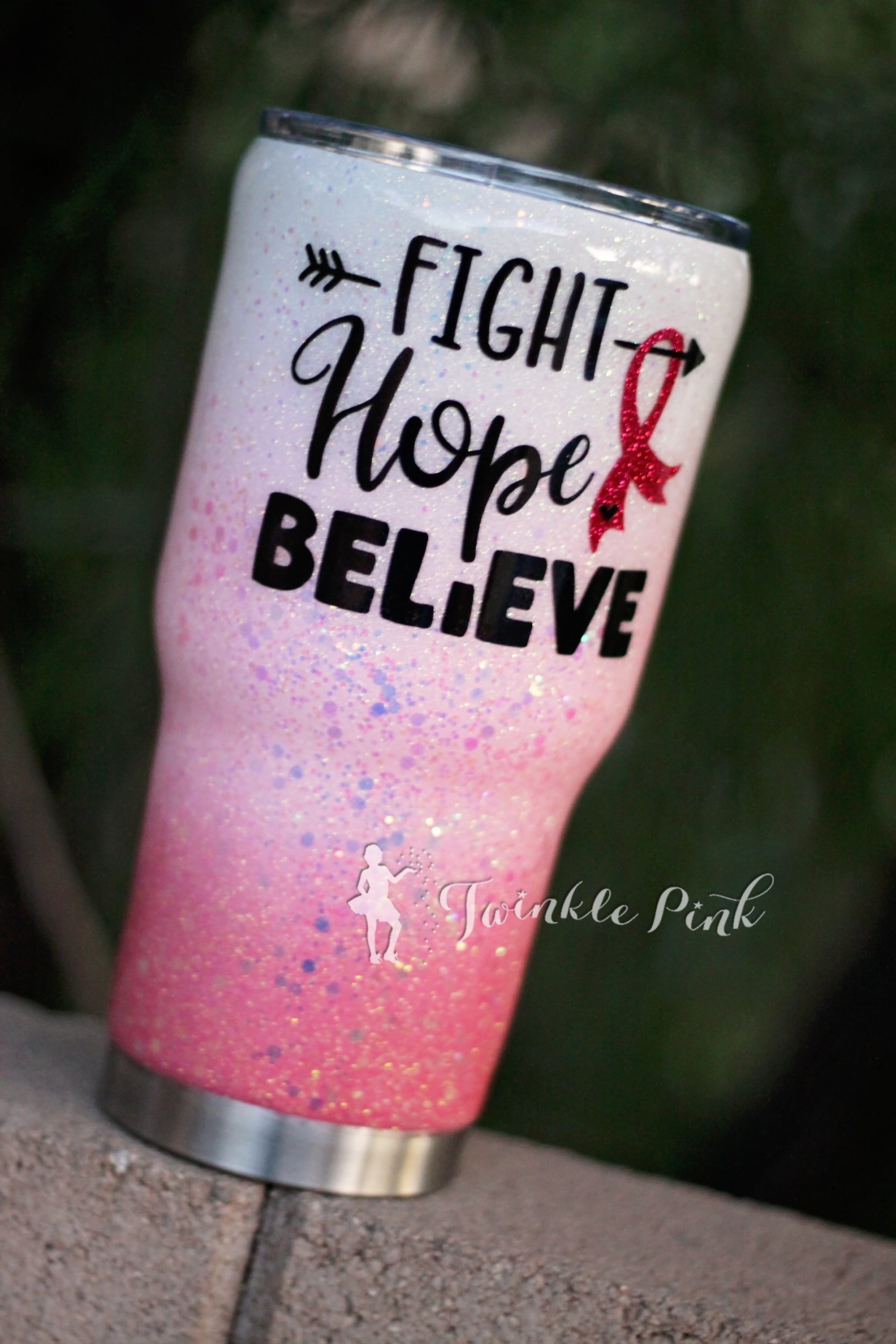 Support Breast Cancer Tumbler