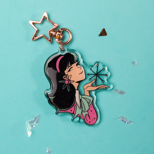 Image of 1960 Space Girl Charms