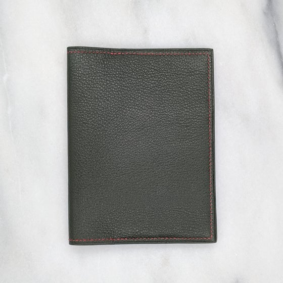Image of PASSPORT Wallet – Green & Brique