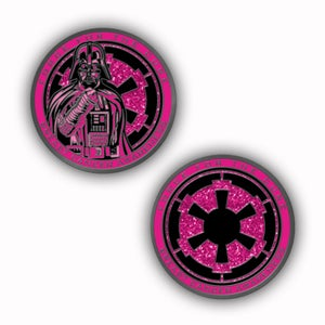 Image of Force For The Cure: Dark Lord Challenge Coin