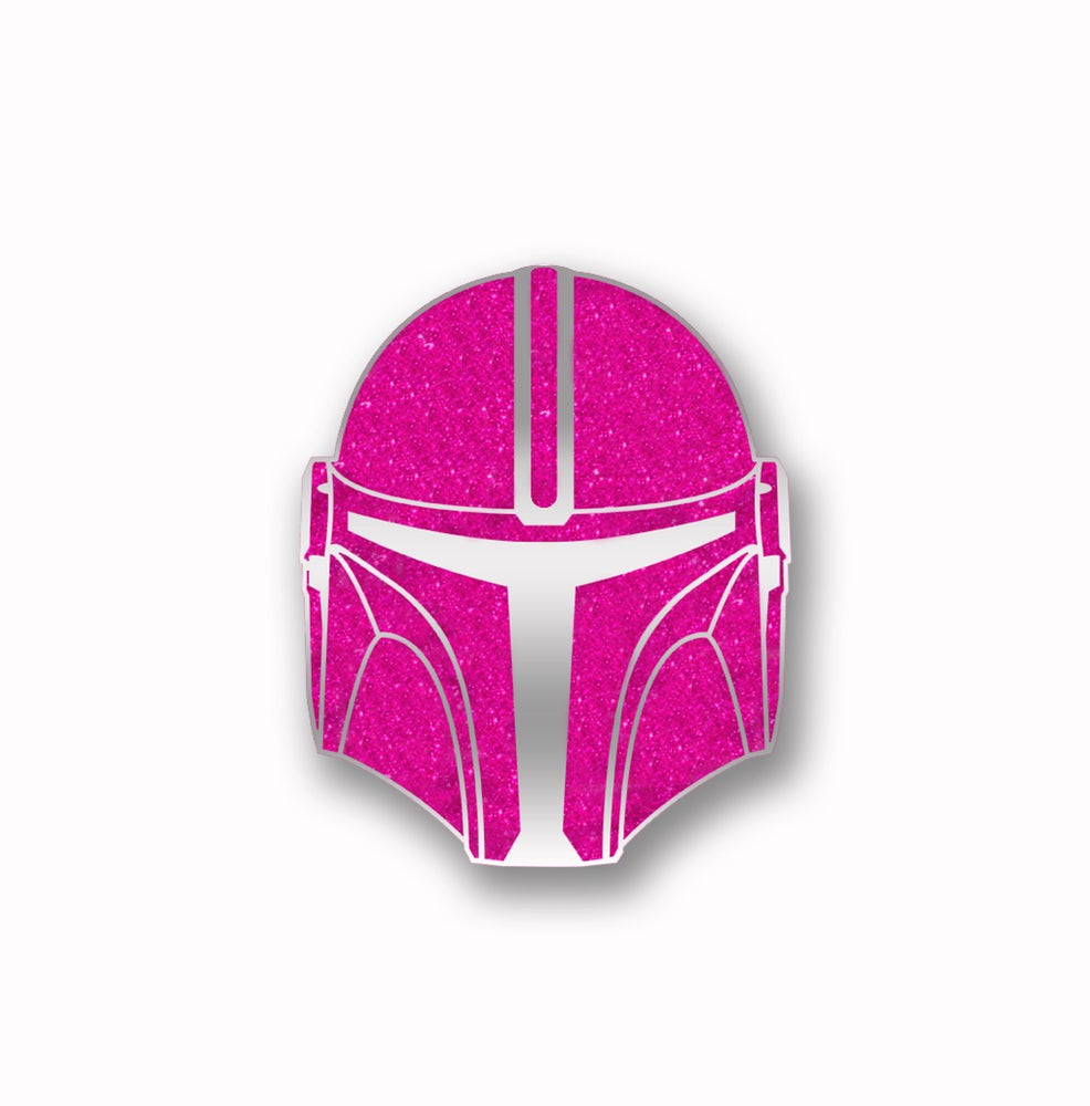 Image of Force For The Cure: Mercenary Glitter Pin
