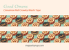 Good Omens Cinnamon Roll Crowley Washi Tape