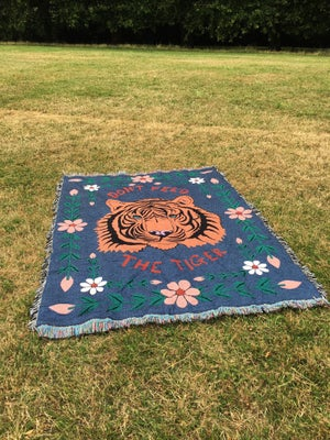 Image of Don't Feed The Tiger Blanket