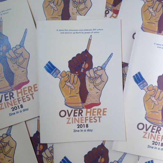 Image of Over Here Zine Fest zine in a day