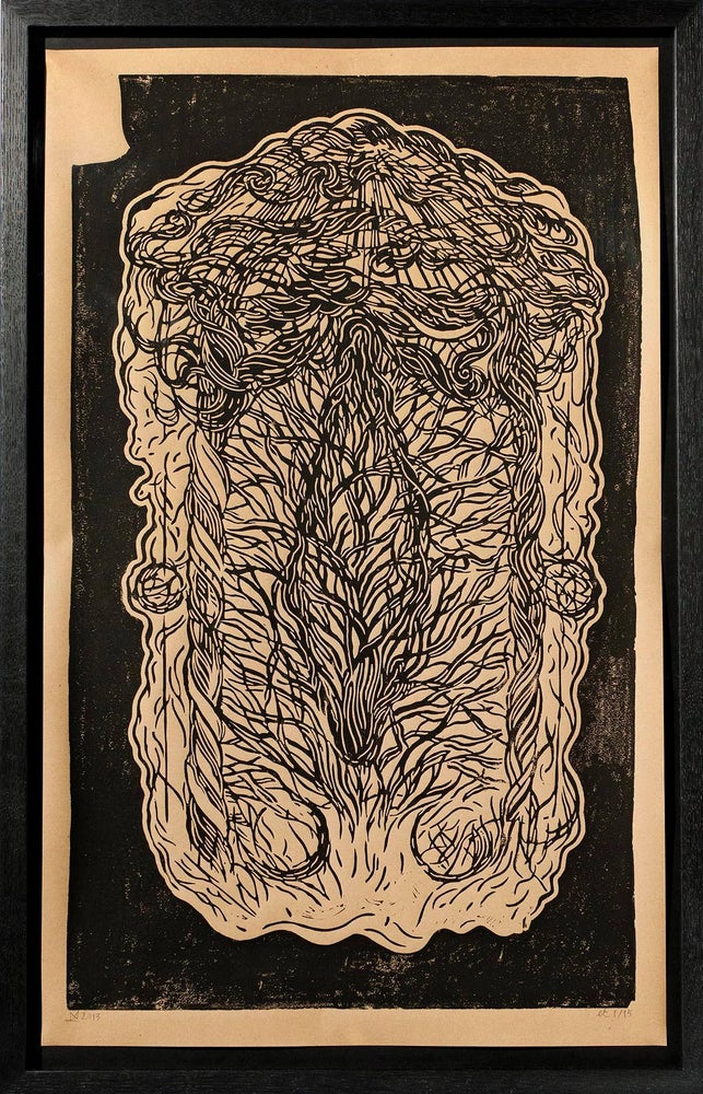 Image of Hail uterus sky - Eternal mothership of all wounds/wombs
