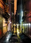 Image of 'Alleyways - Hong Kong' - Limited edition print
