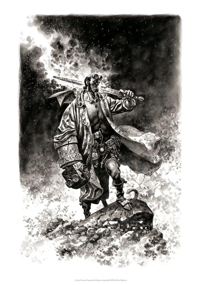 Image of Hellboy: Sword of Justice!