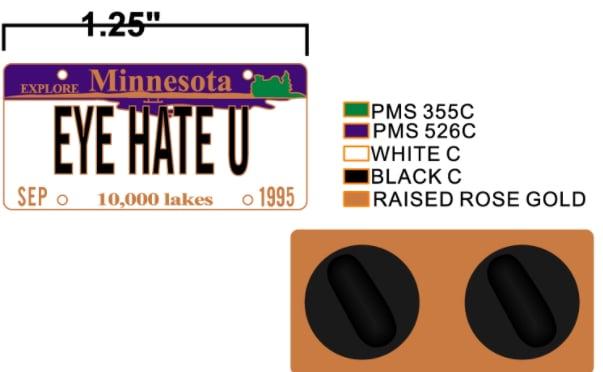 Image of EYE HATE U (SHIPS AUGUST 23rd)