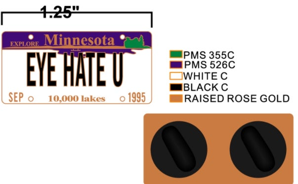 Image of EYE HATE U (SHIPS AUGUST 23rd)