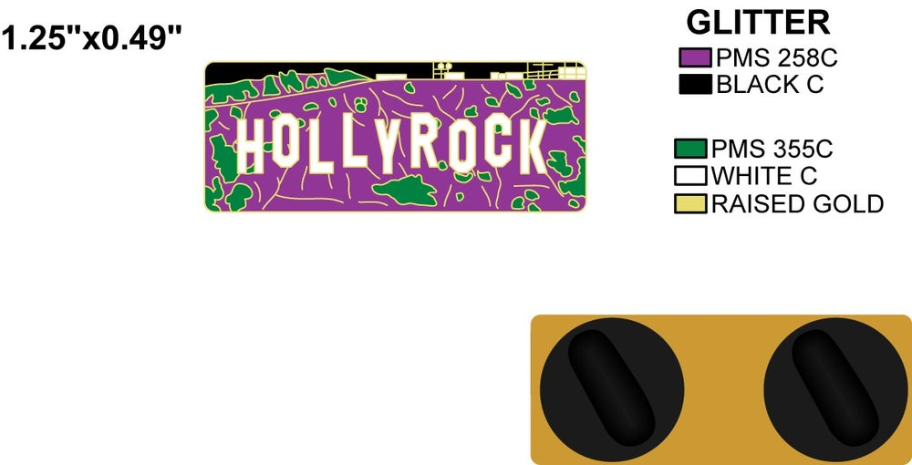 Image of HOLLYROCK SIGN (SHIPS AUGUST 23rd)
