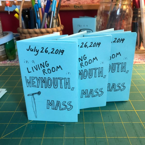 Image of 7/26/19 in Weymouth mini zine