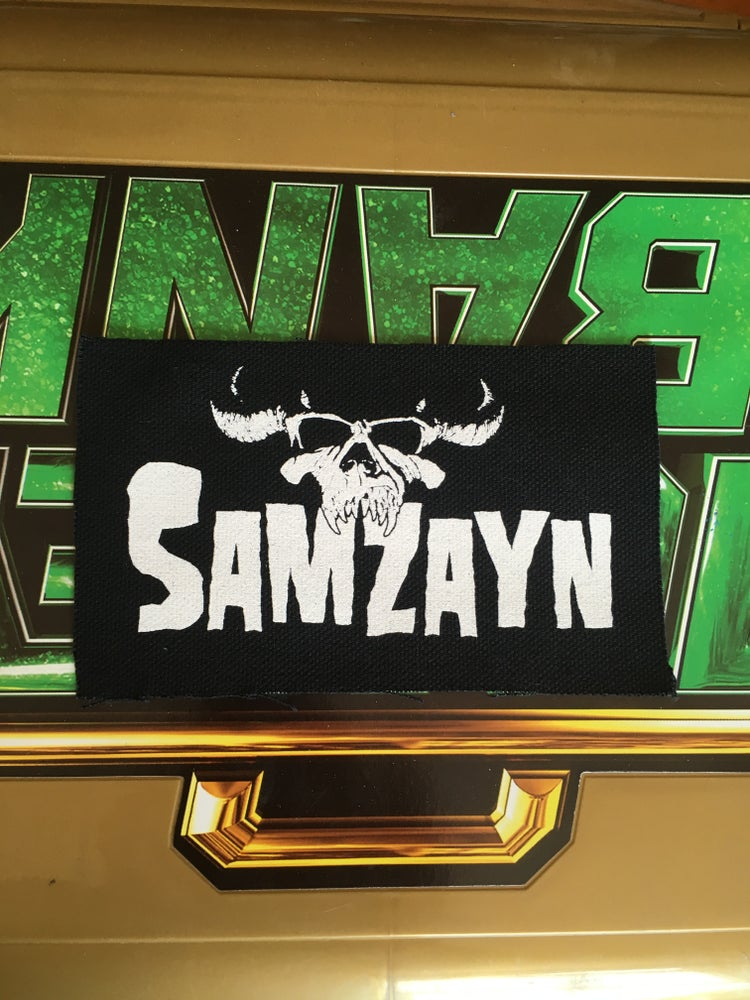 Image of SamZayn Canvas Punk Patch