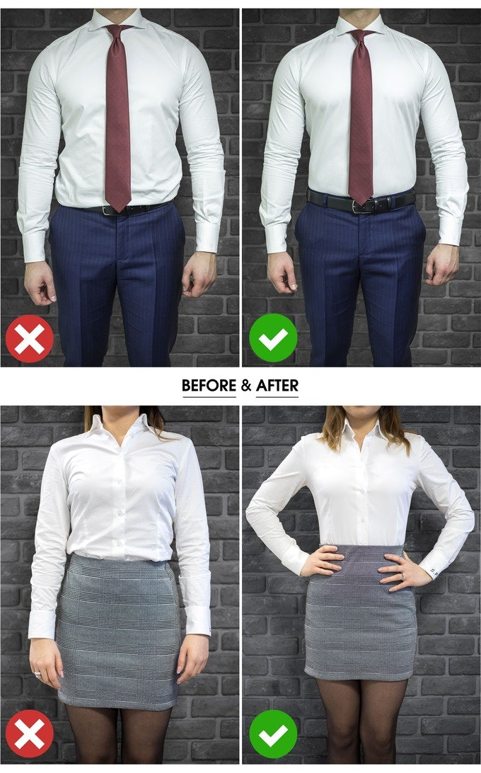 Image of Men's and Woman's Shirt Stay