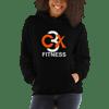 C3X Fitness Hoodie (Black) UNISEX