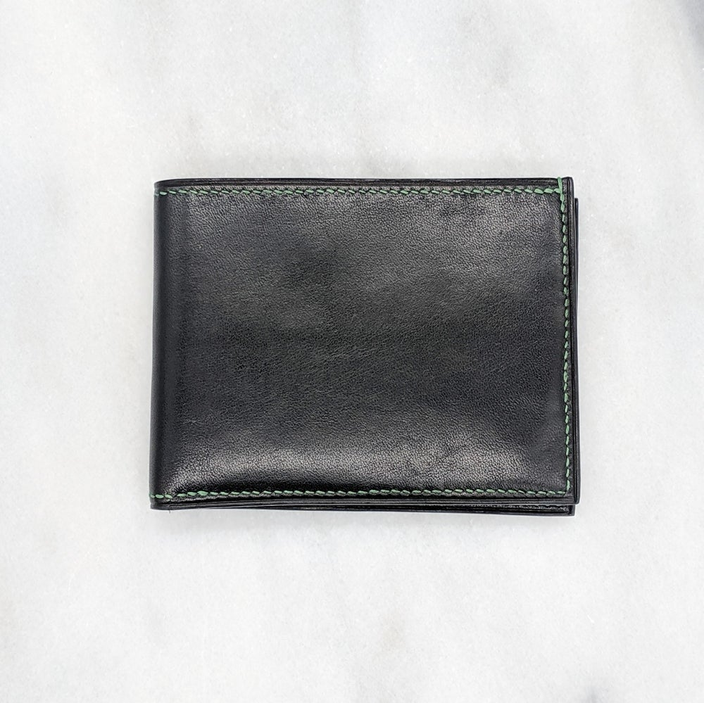Image of BIFOLD Wallet - Black & Green & Green