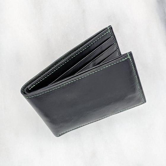 Image of BIFOLD Wallet - Black & Green & Green