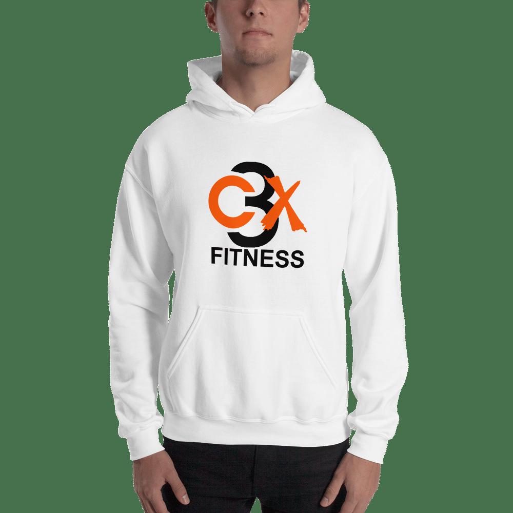C3X Fitness Hoodie (White) UNISEX