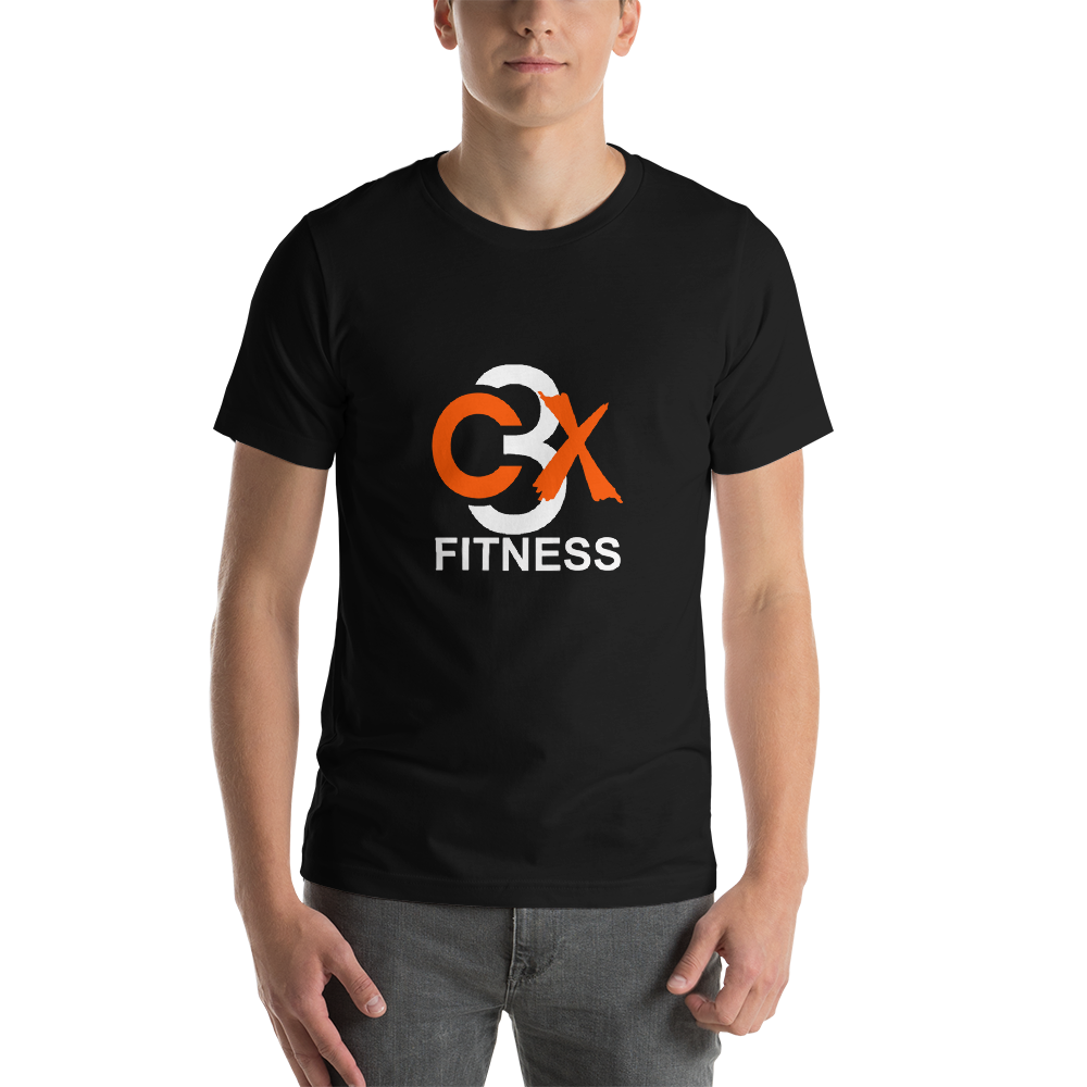 Image of C3X Fitness Signature T-shirt (Black) UNISEX