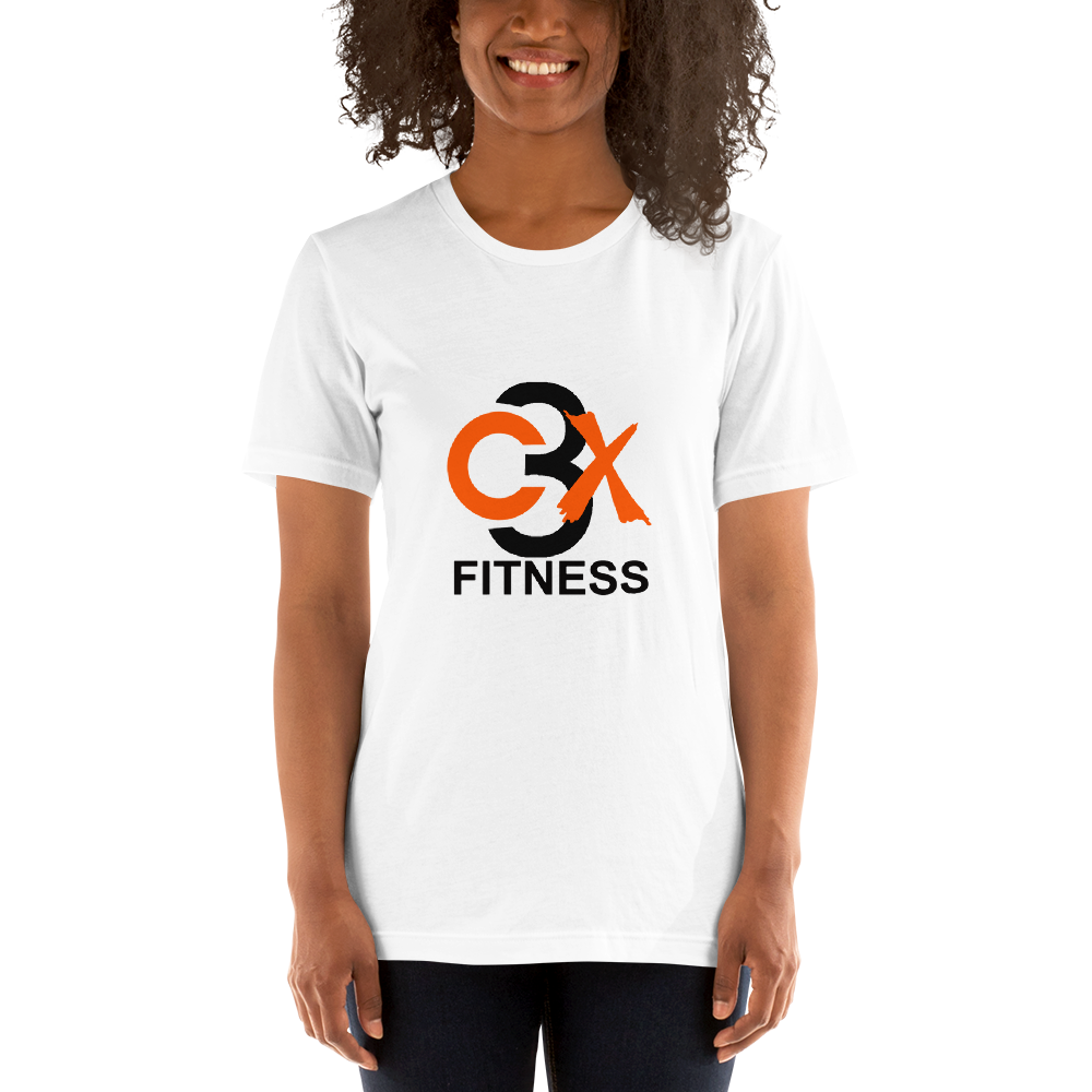 Image of C3X Fitness Signature T-shirt (White) UNISEX