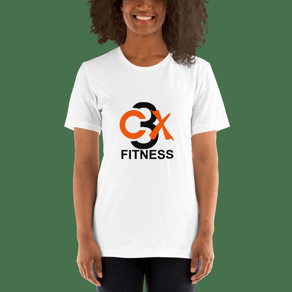 Image of C3X Fitness Signature T-shirt (White) UNISEX