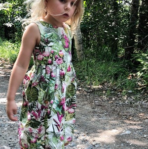 Image of Tropical Scoopback Dress