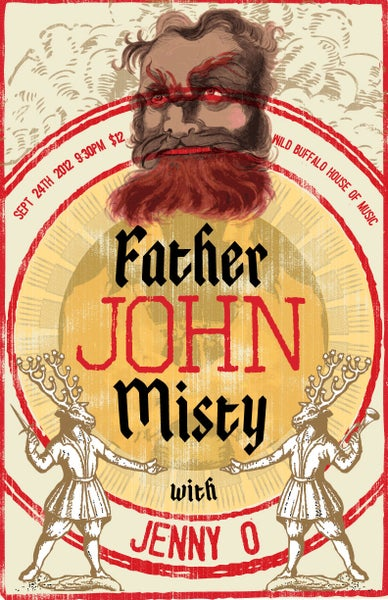 Image of Father John Misty Poster