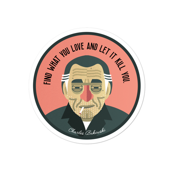 Image of Bukowski Sticker