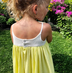 Image of Lemon Drop Maxi Sundress
