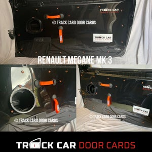 Image of Megane Mk3 - New Material Door Handle - Track Car Door Cards